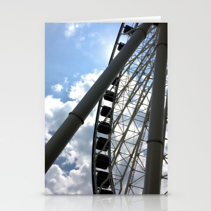 Up High, from Down Below Stationery Cards