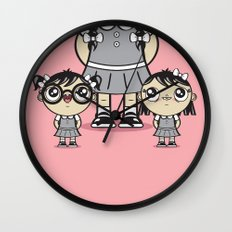 Some Girls Are Bigger Than Others Wall Clock