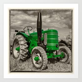 Green Marshall Art Print