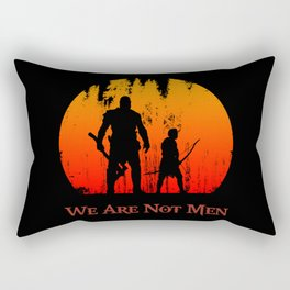 We Are Not Men Rectangular Pillow