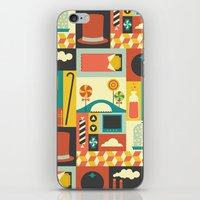 charlie iPhone & iPod Skins featuring Charlie by Ariel Wilson