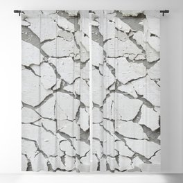 Abstract concrete wall Blackout Curtain