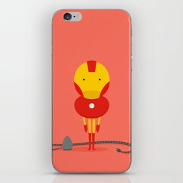 My ironing Hero! iPhone Skin