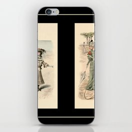 Victorian Dress 19 iPhone Skin