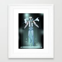 vocaloid Framed Art Prints featuring VOCALOID Zane by Witchy