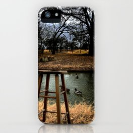 Stool - Color iPhone Case