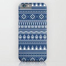 Geo Pattern Indigo iPhone 6s Slim Case