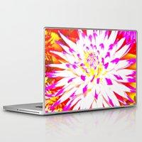 dahlia Laptop & iPad Skins featuring Dahlia by Sofia Fogel