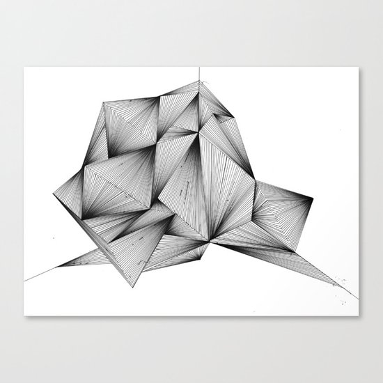Structure (XYZ) Canvas Print