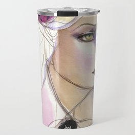 Green Eyed by Jane Davenport Travel Mug