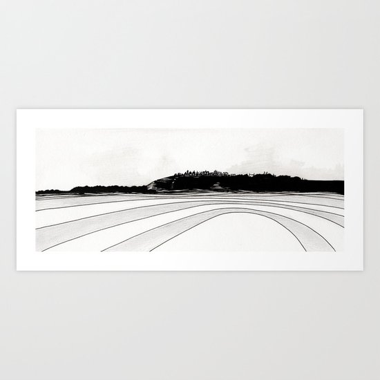 Artificial Landscape N. 6 Art Print