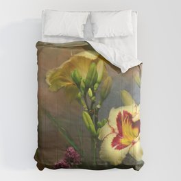 Lilies and Clover Comforters