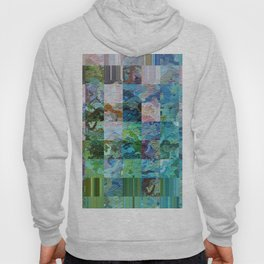 358 - Abstract squares design Hoody
