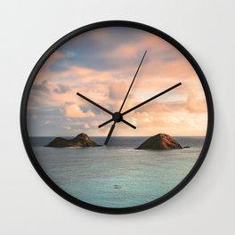 Lanikai Life Wall Clock