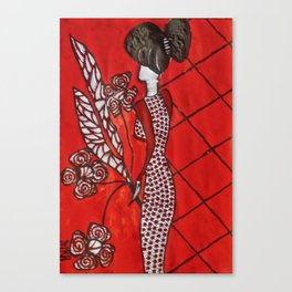 Diamond Gal Canvas Print