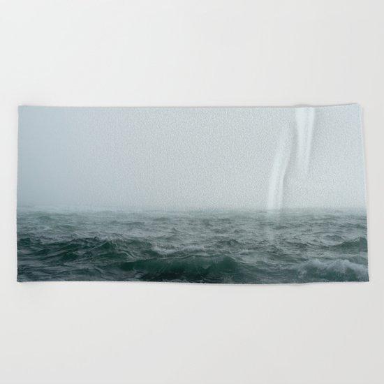 Choppy Seas Beach Towel