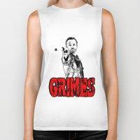 rick grimes Biker Tanks featuring Walking Dead - Rick GRIMES  by High Design