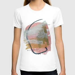 New Mexico: a pretty mixed media abstract in a variety of colors T-shirt