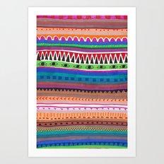 LE MAROC Art Print