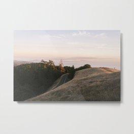 Mt. Tamalpais Road Metal Print