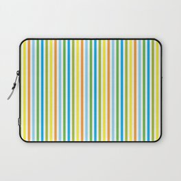 Colourful Pinstripes Laptop Sleeve