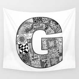 Cutout Letter G Wall Tapestry