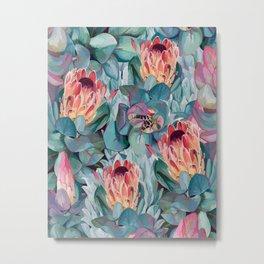Protea flowers Metal Print