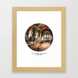012: KAOS Temple, Spain Framed Art Print