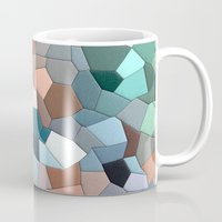 mosaic Mugs featuring mosaic  by  Agostino Lo Coco