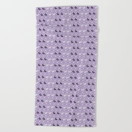 Rabbit Pattern Beach Towel