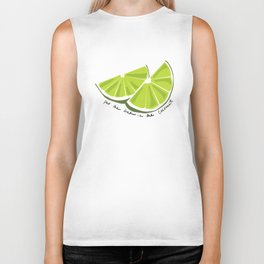 Lime in the Coconut Biker Tank
