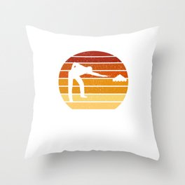 Funny Billiard Is My Therapy Throw Pillow