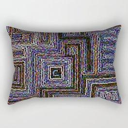 Etno circle pattern Rectangular Pillow