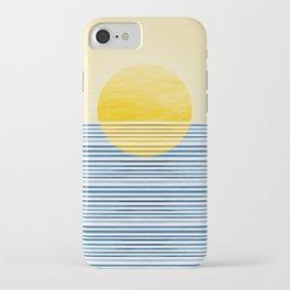 Minimal Summer Sunset iPhone Case