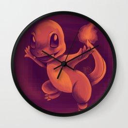 Hitokage Wall Clock