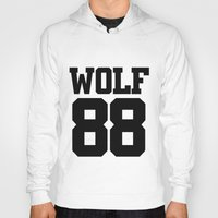 exo Hoodies featuring EXO WOLF 88 by Cathy Tan