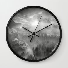 Black and White - Wish You Were Here (Chapter I) Wall Clock