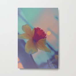 Hypereal Sunrise Florals (2) Metal Print