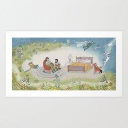Sadie Pg 30-31 Art Print