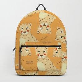 Cheetah, African Wildlife Backpack