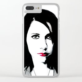 Polly Jean Clear iPhone Case