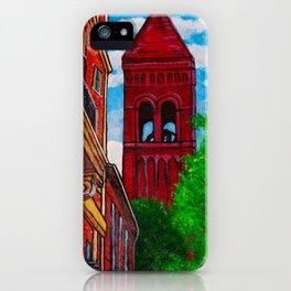 Duke Street Steeple iPhone Case