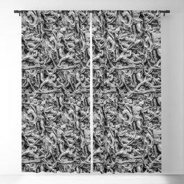 Sculpture Collage Pattern Blackout Curtain