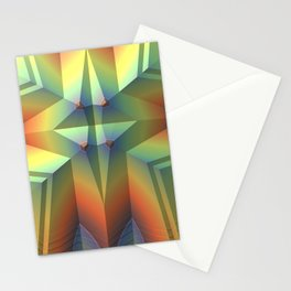 Artful Geometry Stationery Cards
