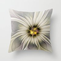 blossom Throw Pillows featuring Blossom by gabiw Art