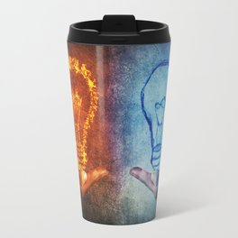 Fire vs Water Travel Mug
