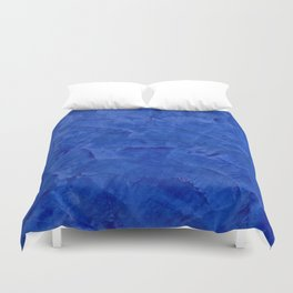 Pretty Blue Cases - Ombre - Stucco - Pillow - Classic Blue - Shower Curtains Duvet Cover
