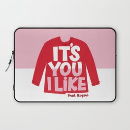 It's You I Like Mister Rogers Sweater Laptop Sleeve