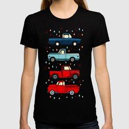 Winter Vintage Trucks T-shirt