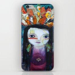 Indian Princess iPhone Skin